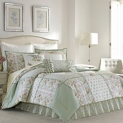Laura Ashley Lifestyles Harper Comforter Collection