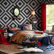 Josie by Natori Hollywood Boho Duvet Cover Collection