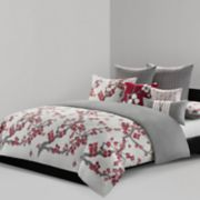 N Natori Cherry Blossom Duvet Cover Collection