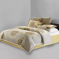 N Natori Medallion Comforter Collection
