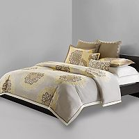 N Natori Medallion Duvet Cover Collection