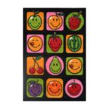 <strong>Fun Rugs™ Smiley World Fruitti Rug</strong>