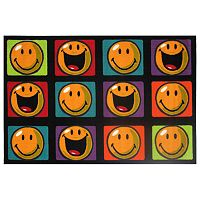 <strong>Fun Rugs&trade; Smiley World Happy &amp; Smiling Rug</strong>