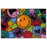 <strong>Fun Rugs™ Smiley World Smiles & Laughs Rug</strong>