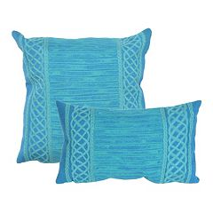 Liora Manne Visions II Celtic Stripe Indoor Outdoor Throw Pillow Collection