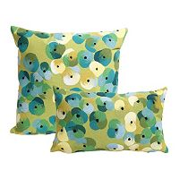Liora Manne Visions II Pansy Indoor Outdoor Throw Pillow Collection