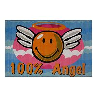 <strong>Fun Rugs&trade; Smiley World Smiley&nbsp;Angel Rug</strong>