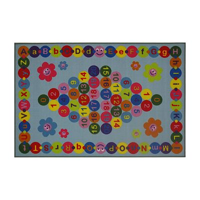 Fun Rugs Fun Time Happy Learning Rug