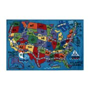 Fun Rugs Supreme Travel Fun Rug