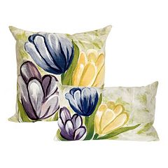 Liora Manne Visions III Tulips Indoor Outdoor Throw Pillow Collection