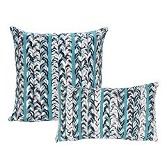 Liora Manne Visions III Braided Stripe Indoor Outdoor Throw Pillow Collection