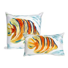 Liora Manne Visions III Angel Fish Indoor Outdoor Throw Pillow Collection