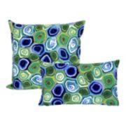 Liora Manne Visions III Murano Swirl Indoor Outdoor Throw Pillow Collection