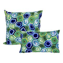 Liora Manne Visions III Murano Swirl Indoor Outdoor Throw Pillow Collection