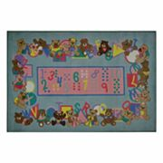 Fun Rugs Supreme Teddies and Letters Rug