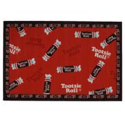 Fun Rugs Tootsie Roll Candy Rug