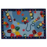 <strong>Fun Rugs™ Tootsie Roll® Dots® Rug</strong>