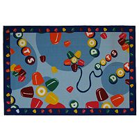 <strong>Fun Rugs&trade; Tootsie Roll&reg; Dots&reg; Rug</strong>