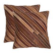 Cherilyn 2 pc Throw Pillow Set