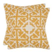 Moroccan 2-piece Throw Pillow Set