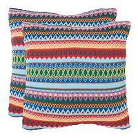 Mirabelle 2 pc Throw Pillow Set