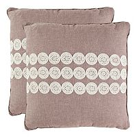 Thora 2-piece Throw Pillow Set
