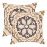 Thea 2-piece Throw Pillow Set