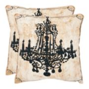 Velleron 2-piece Throw Pillow Set