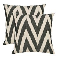 Chevron 2-piece Throw Pillow Set