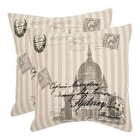Lucas 2 pc Throw Pillow Set