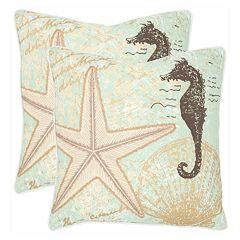 Lauren 2 pc Throw Pillow Set