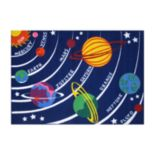 <strong>Fun Rugs™ Fun Time Solar System Rug</strong>