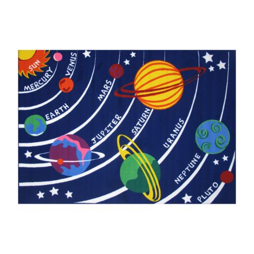 Fun Rugs Fun Time Solar System...