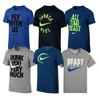 Boys 8-20 Nike Graphic Tees