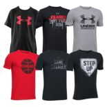 Boys 8-20 Under Armour Graphic Tech Tees