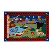 Fun Rugs Olive Kids Camp Fire Friends Rug