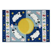 Fun Rugs Olive Kids Sleepy Sheep Rug