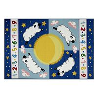 <strong>Fun Rugs&trade; Olive Kids&trade; Sleepy Sheep Rug</strong>