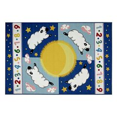 Fun Rugs™ Olive Kids™ Sleepy Sheep Rug