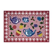 Fun Rugs Olive Kids Tea Party Rug