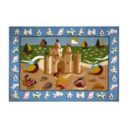 Fun Rugs Olive Kids Sand Castle Rug