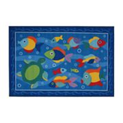 Fun Rugs Olive Kids Somethin' Fishy Rug
