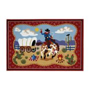 Fun Rugs Olive Kids Ride 'Em Rug