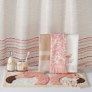 Saturday Knight, Ltd. Coral Gables Waves Shower Curtain Collection