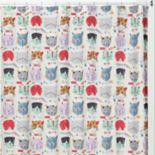 Creative Bath Kitty Shower Curtain Collection