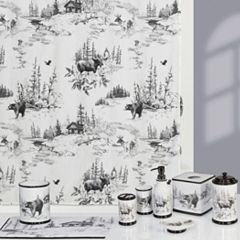 Creative Bath Sketches Shower Curtain Collection