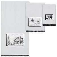 Creative Bath Sketches Bath Towel Collection