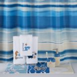 Bacova Coastal Patch Waves Shower Curtain Collection