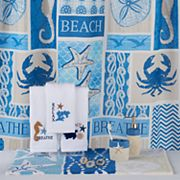 Bacova Coastal Patch Shower Curtain Collection