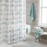 One Home Kitty Cat Shower Curtain Collection